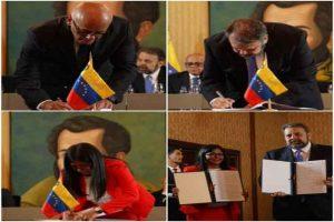 Le gouvernement vénézuelien et l'opposition signent un accord de dialogue et de paix