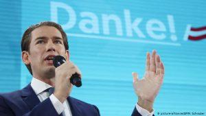 Partido conservador vence eleição antecipada na Áustria