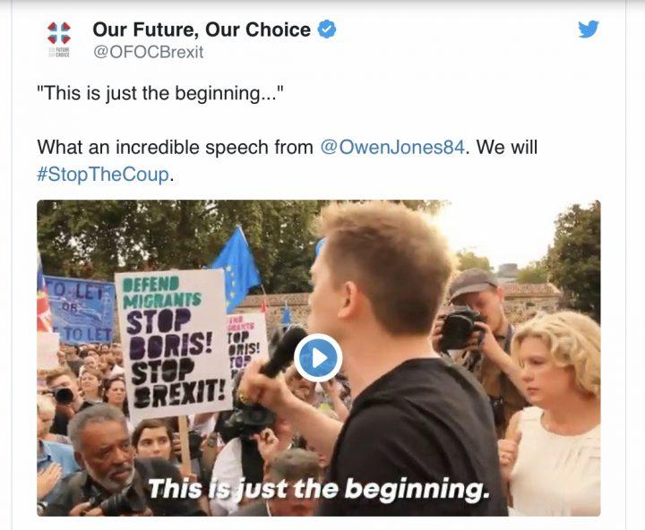 """Protestes massives al Regne Unit contra el """"cop"""" polític de Johnson"""