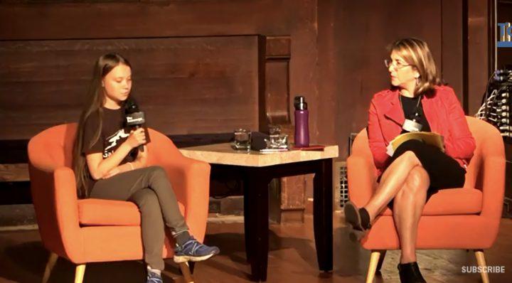 Βίντεο: η Ναόμι Κλάιν υποδέχτηκε την Γκρέτα Τούνμπεργκ στη Νέα Υόρκη