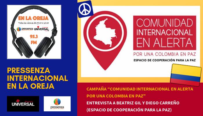 Beatriz Gil y Diego Carreño: «Las FARC cumplieron con el desarme, punto 3 de los Acuerdos de Paz»