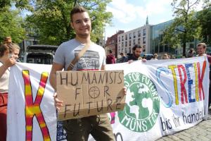 """""""Die Klimastreikbewegung wird von der Wissenschaft getragen"""""""