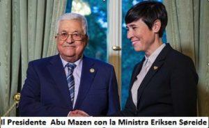 Palestina, mani tese alla pace