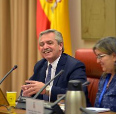 Alberto Fernández_Congreso Diputados España_Ariel Brocchieri
