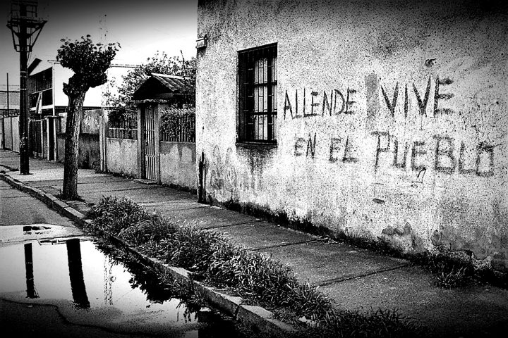 El 11 de septiembre es la tercera ruta de Allende