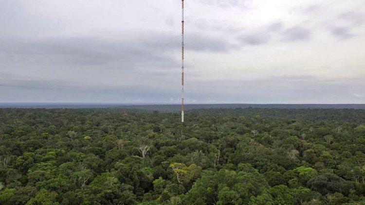 L'osservatorio Amazzonico ATTO (Amazon Tall Tower Observartory)