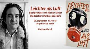 Buchpremiere mit Florian Kirner (Prinz Chaos) in Berlin