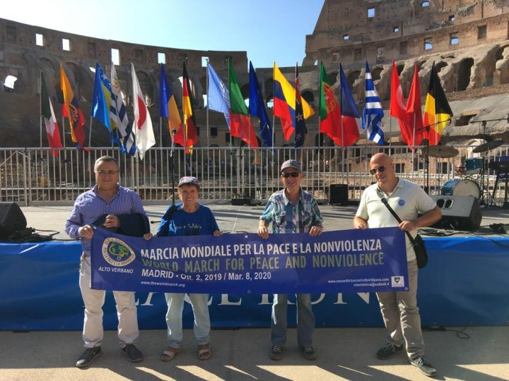Second World March for Peace and Nonviolence upcoming events
