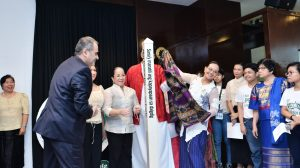 Peace Pole Dedication Ceremony Marks UN International Day of Peace at DLSMHSI