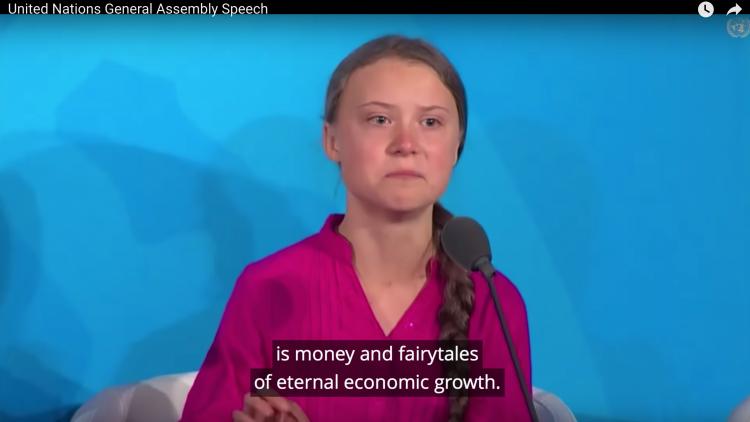 Greta Thunberg's powerful speech to the UN