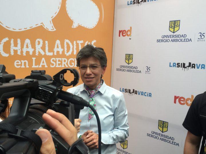 Conversatorio por alcaldía de Bogotá: Claudia López