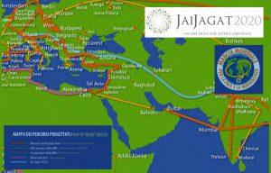Roma: presentazione della Marcia per la Pace Jai Jagat 2020