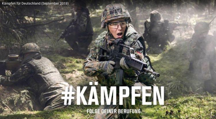 Kämpfen für Deutschland