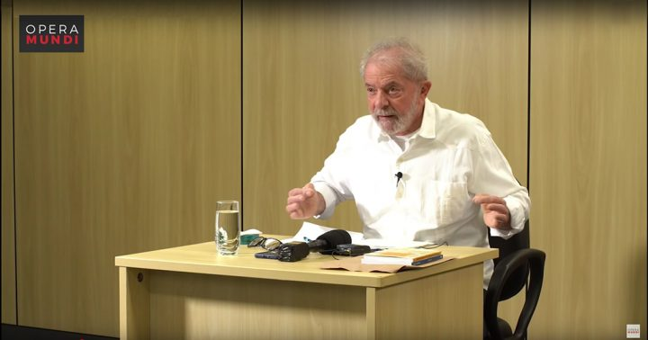 """Entrevista a Lula: """"Si los militares quieren hacer política, que dejen el uniforme""""."""
