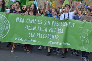 Madrid : Ensemble pour le climat dans une grande manifestation