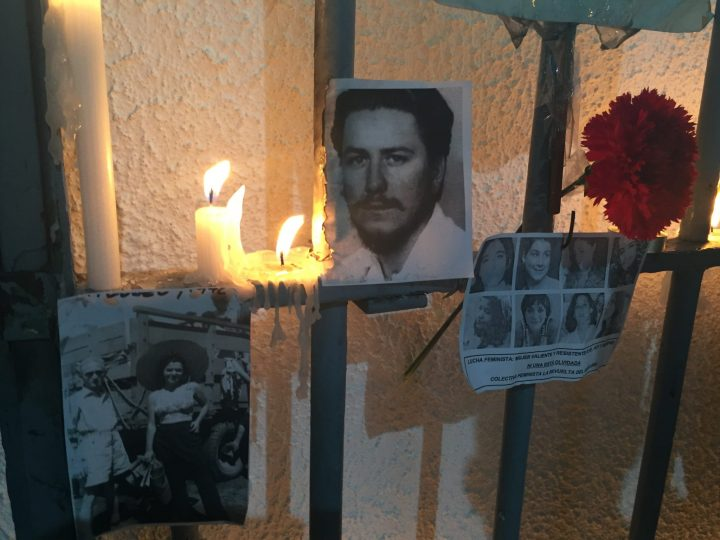 Tomás Hirsch: tribute to the victims of the Chilean civil-military dictatorship