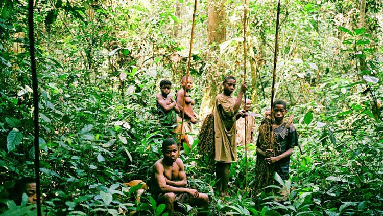 Popolo Baka del Congo