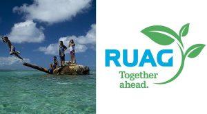Artistas activistas organizan la conferencia de prensa de Ruag: Tecnología verde en lugar de armas
