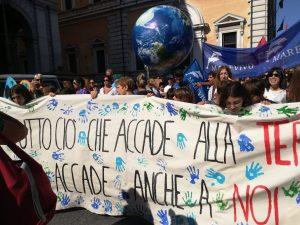De toda Italia las fotos de la mayor huelga de Fridays for Future hasta ahora