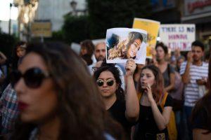 Παλαιστίνη: οι γυναίκες διαδηλώνουν ενάντια στη βία