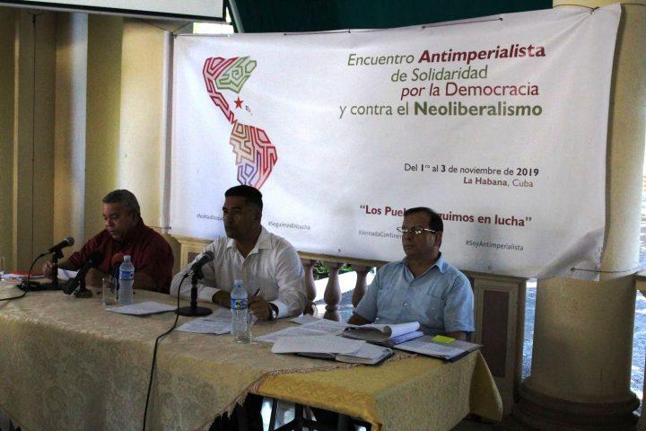 Encuentro Antimperialista de Solidaridad, por la Democracia y Contra el Neoliberalismo: un espacio de lucha e integración