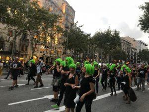 Barcelona se une a la huelga mundial contra el cambio climático