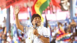 «Un abrazo para Bolivia». Lanzan Campaña internacional en apoyo a Evo Morales