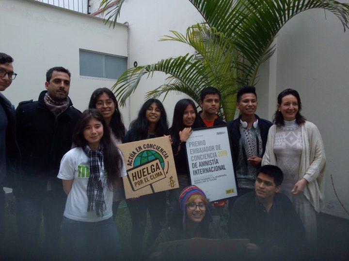 ,,Es wird entweder eine Grüne Revolution geben oder gar keine'', betont die Jugend von Fridays for Future – Peru