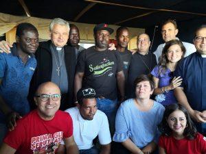 L'inviato del Papa nei ghetti agricoli del Foggiano