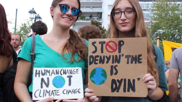 Athènes. Photos de la grève sur le changement climatique