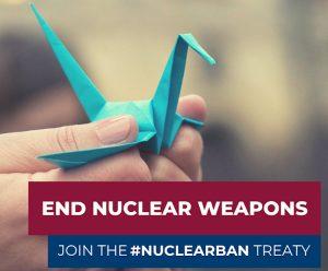 Παγκόσμια ημέρα για τον πυρηνικό αφοπλισμό: Επιστολή προς Βουλευτές