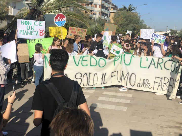 Il Friday For Future mobilita anche Pescara