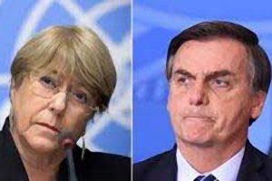 La situation de la démocratie au Brésil préoccupe Michelle Bachelet