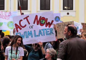 Per il diritto all'acqua, per il diritto al clima, per il diritto al futuro! Sì allo Sciopero Globale per il Clima