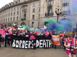Stop the arms fair: Borders and Migration day of action