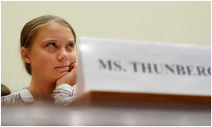 Climate crisis, the biggest crisis humanity has ever faced, wake up and face the facts: Greta Thunberg