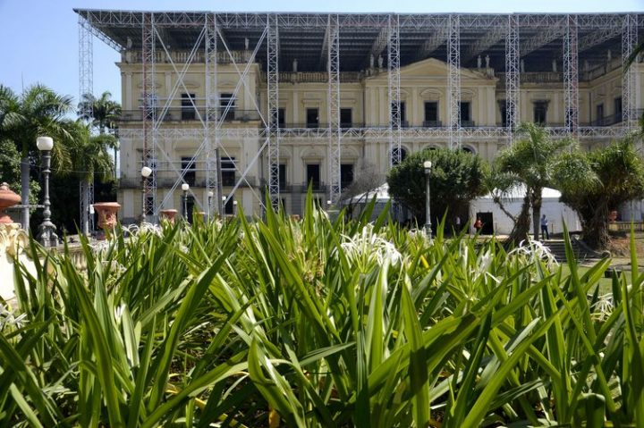 Reconstrução do Museu Nacional no Rio de Janeiro entra em nova fase