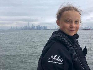 Une Greta Thunberg recherchée pour la paix et le désarmement nucléaire