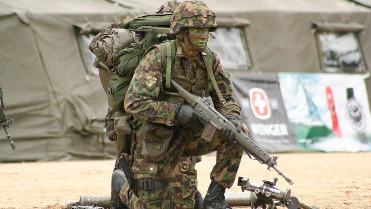 Kriegsmaterialexport-Zahlen der Schweiz explodieren
