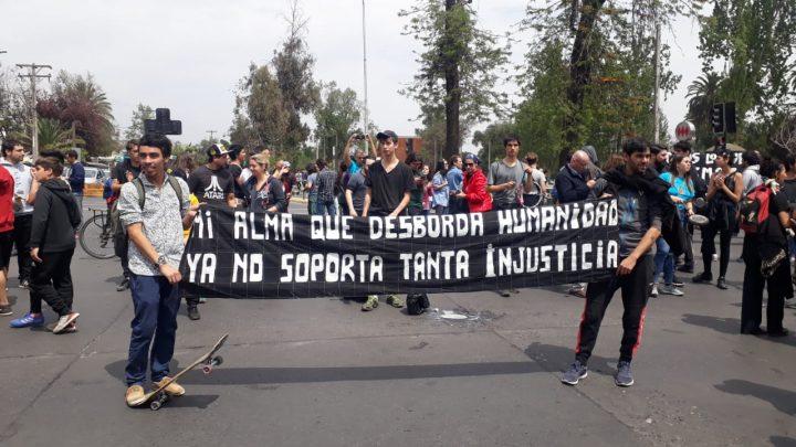 Soziale Explosion in ganz Chile