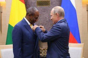 1er forum Russie-Afrique : le président guinéen attendu à Moscou