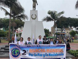 [Perú] Día Internacional de la Noviolencia: 2da Marcha Mundial por la Paz y la Noviolencia