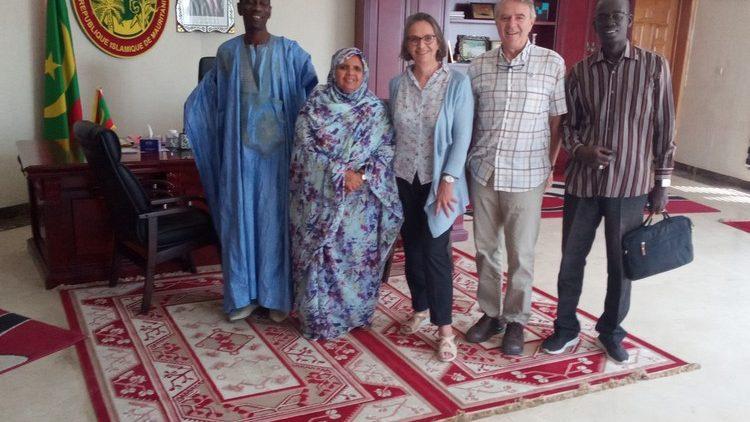 Rencontre avec Fatimetou Mint Abdel Malick, Présidente de la Communauté Urbaine de Nouakchott, Mauritanie
