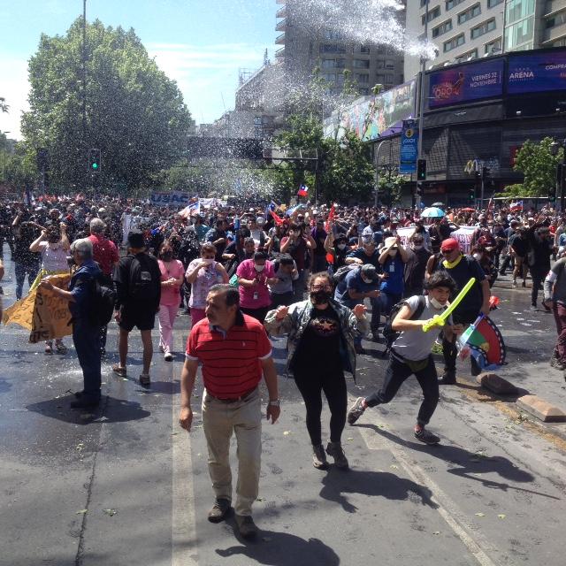 Chile. 6ª Jornada de lucha: Hasta que renuncie Piñera y prime el bien común