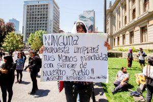 No es fiesta ni carnaval cultural: Nos matan en Chile