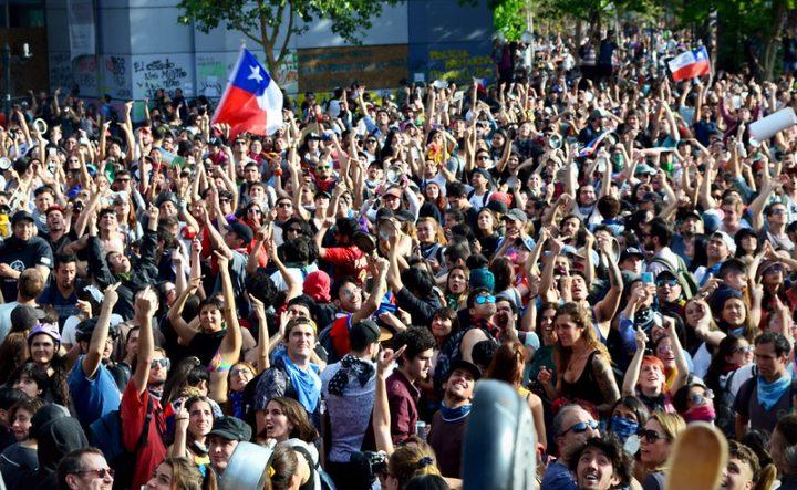 Non è guerra, è protesta. Appello alla solidarietà con il popolo cileno