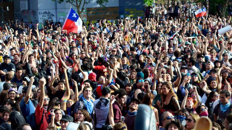 popolo cileno cile solidarietà repressione proteste