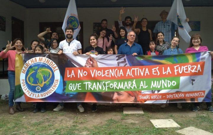 La 2ª Marcha Mundial: dos viajes en uno por la revolución noviolenta