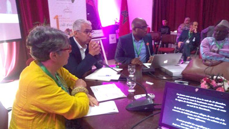 Agadir, Maroc: la jeunesse africaine revendique sa place dans la gouvernance du continent