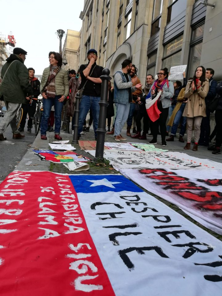 Más manifestaciones de apoyo y solidaridad con Chile alrededor del mundo